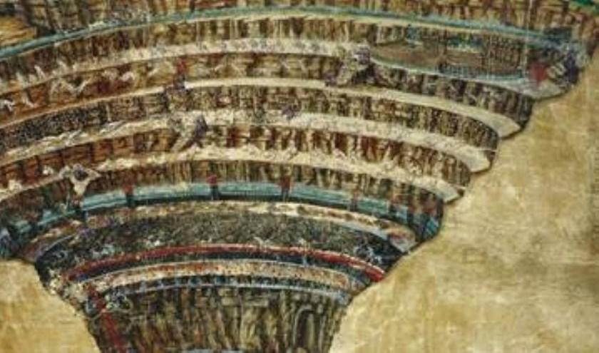 Boticelli's bracht Dante's inferno in beeld.