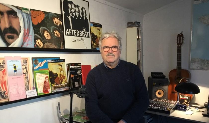 Gerrit Kauffeld geniet van het maken van mijn muziek. Het loopt als een rode draad door zijn leven.