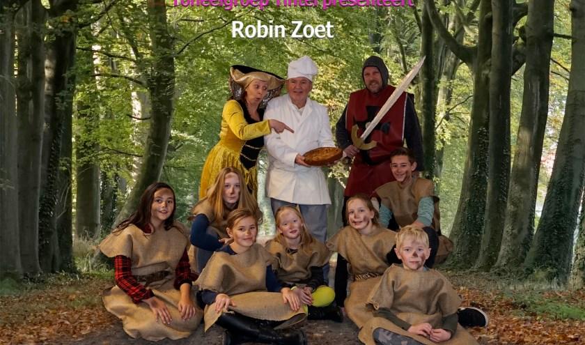 De bezetting van Toneelgroep Tintel bij Robin Hood
