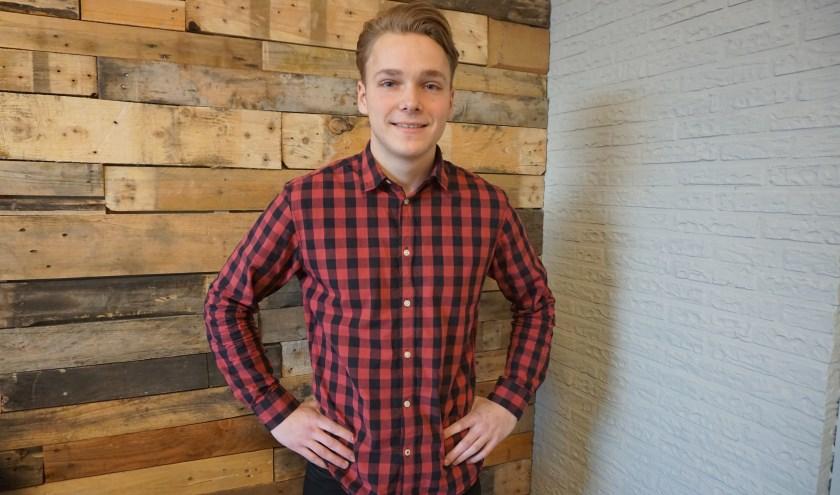 Jens Beimans geeft les op basisschool Schepelweyen in Dommelen.