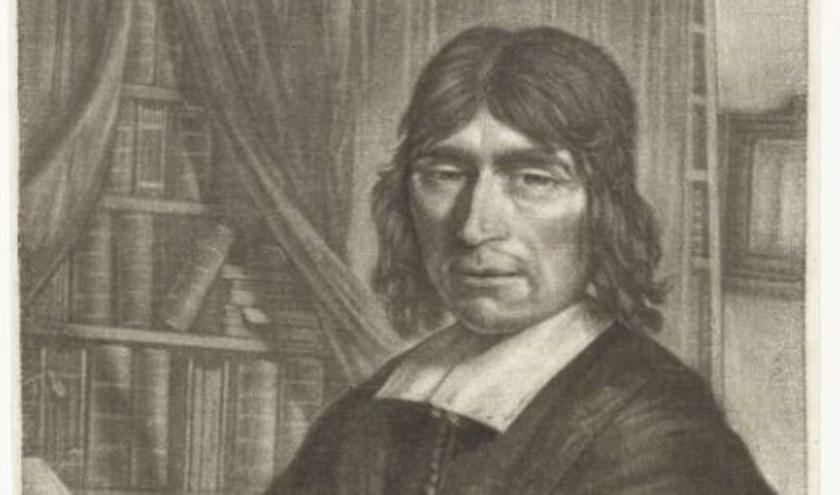mezzotintgravure Franciscus de Weert door Pieter Jansz