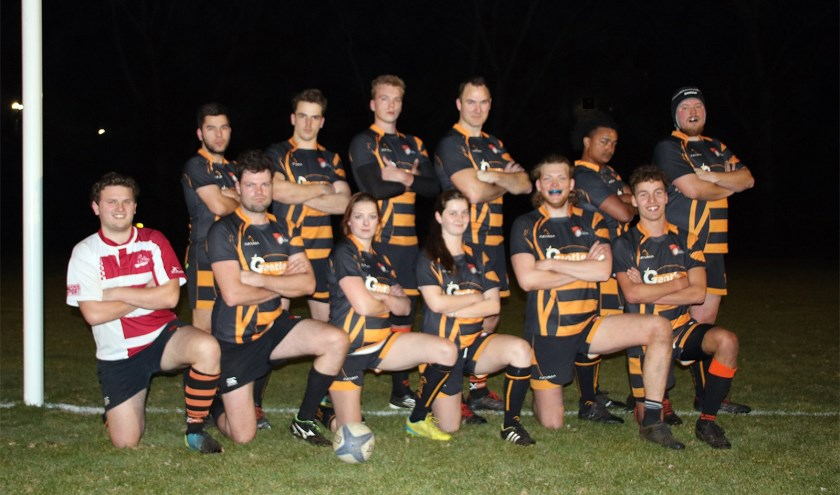 Club van de Week: Rugbyclub Dragons. Eigen foto