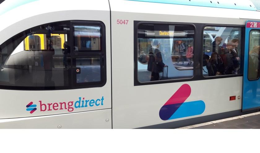 De treinen van Breng rijden aanstaande maandag gewoon van Arnhem naar Doetinchem (en weer terug)! (foto: Danny van der Kracht)