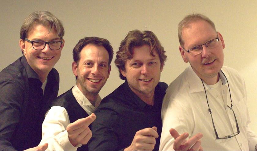 Het Oldenzaalse zangkwartet Voices in Four geeft een koffieconcert in Huize Keizer in Denekamp.