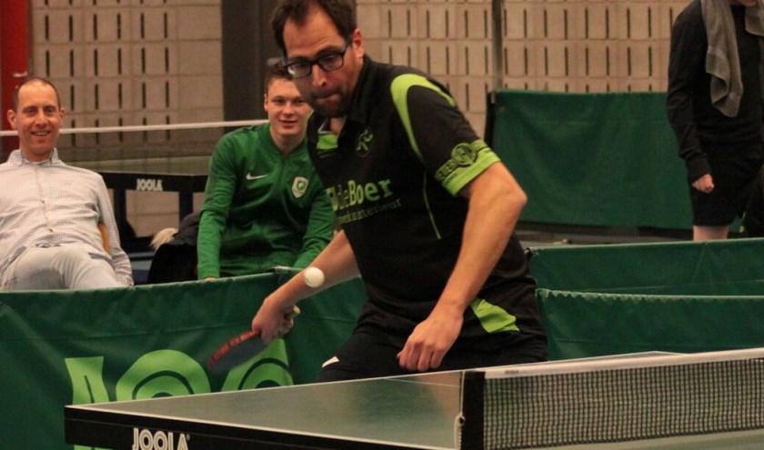 Dennis Moerkerken in actie. Foto: PR