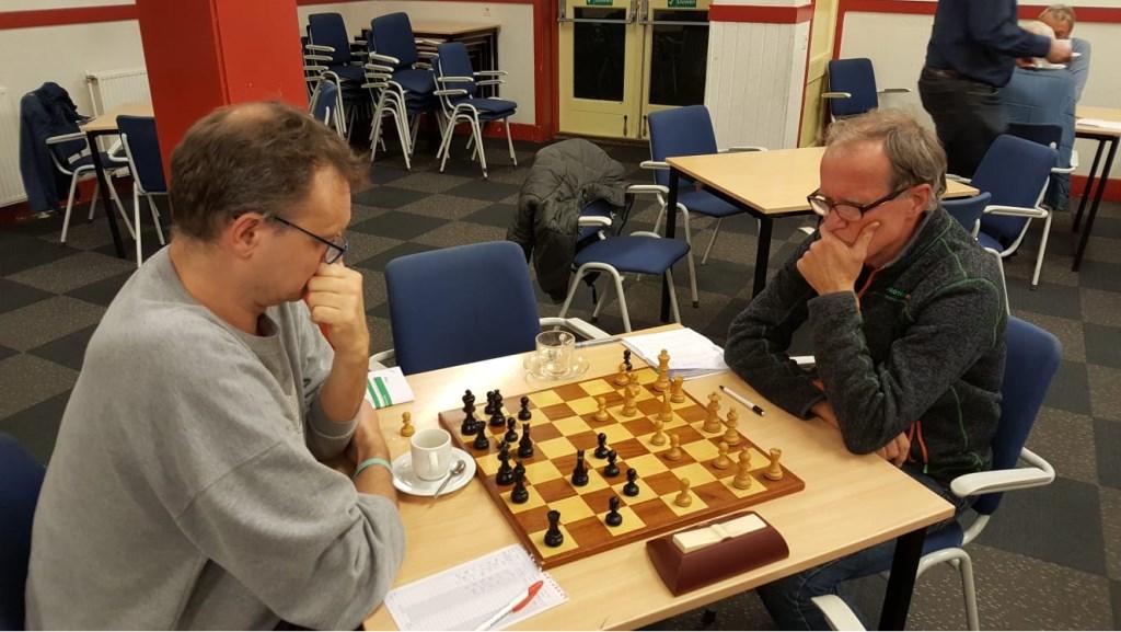 Harry Verhoef won de strijd om de toppositie van Rinus van der Molen.  © DPG Media