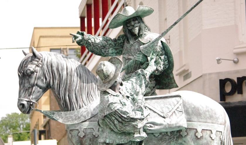 Living Statue is een van de talenten van de vrijwilligers van Kalefater.