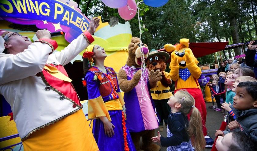 In het Avonturenpark is het altijd feest. Foto: Jan Broekman