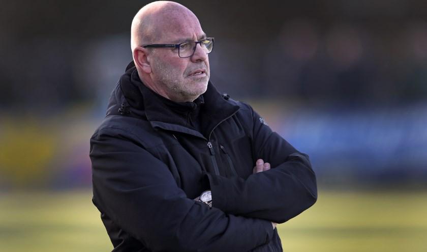 Trainer Sparta AV Robert Verbeek.