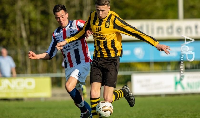 De derby RWB tegen Baardwijk was er eentje om niet snel te vergeten.