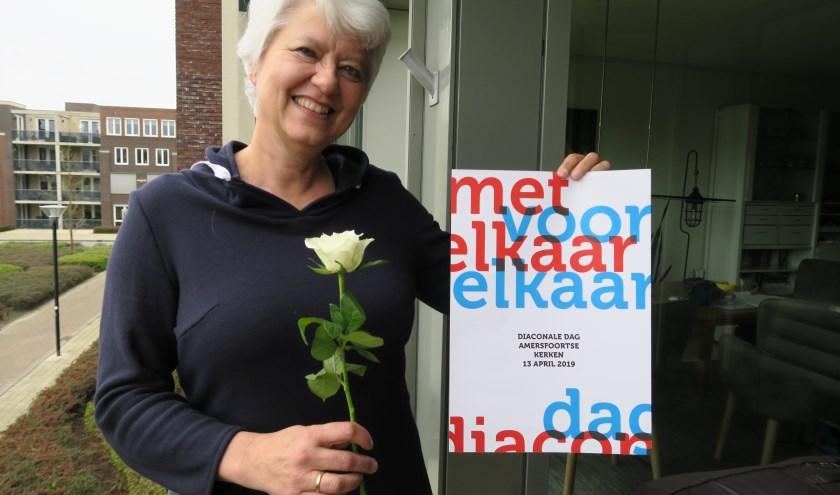 Henriek Mak is diaken en een van de vrijwilligers die aanstaande zaterdag rozen uitdelen.