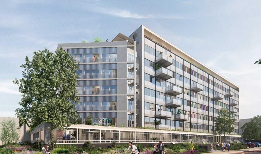 Het Stads Huis bestaat uit 92 nieuwbouwappartementen en stadswoningen in verschillende prijsklassen.