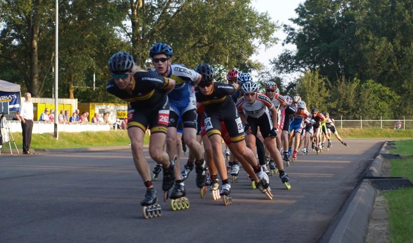 24 april wordt de eerste wedstrijd van de Inline Cup Oost competitie gereden op de ijs- en inlineskatebaan in Doetinchem. (Foto: Eigen foto)