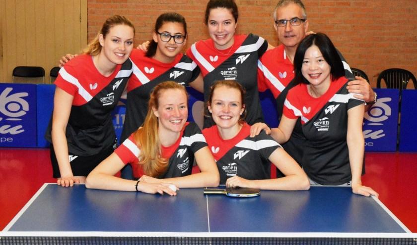 In de halve finale dames eredivisie is zaterdag 20 april de wedstrijd tegen TTV Lybrae Heerlen.