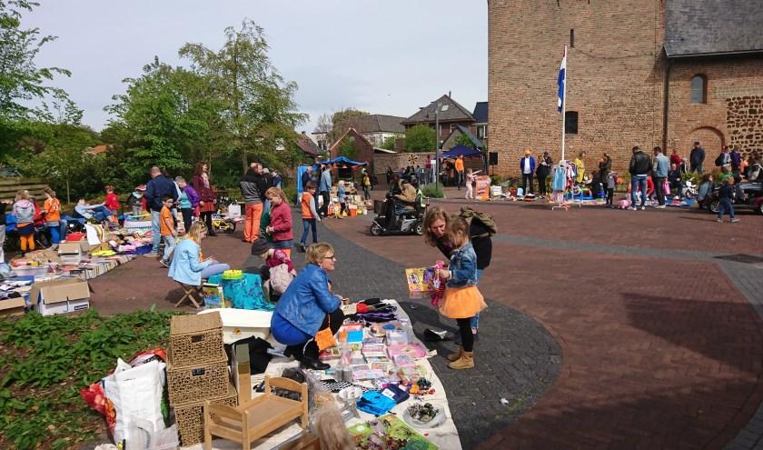 Koningsmarkt in Silvolde.