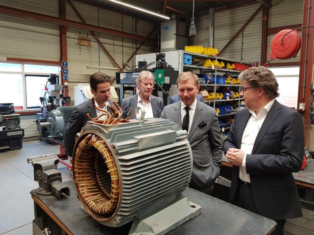 Techtron reviseert ook elektromotoren.  © DPG Media