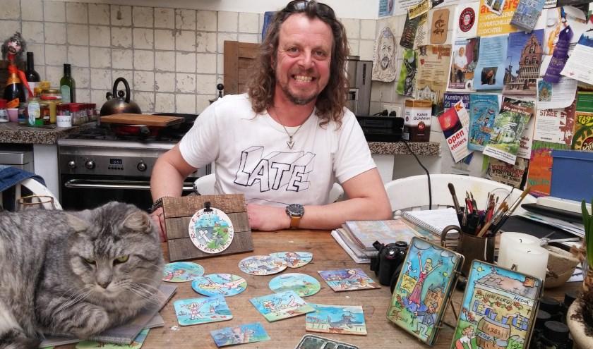 Is hij een levenskunstenaar, beelddenker, hondenman of natuurliefhebber? De creatieve Rob Reis is hoe dan ook een fascinerend mens.