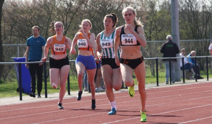 100 meter sprint.