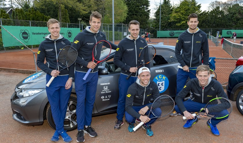 De mannen van TCK 1. (Foto: Wijntjesfotografie.nl)