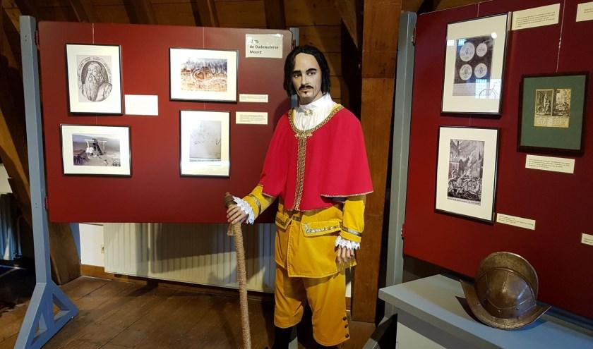 Ook in de tentoonstelling: Jan Pietersz van der Lee, telg uit het bekende touwslagersgeslacht Als kapitein van de Schutterij aanvoerder van de verdediging van de stad in 1575. (Foto: GVO)