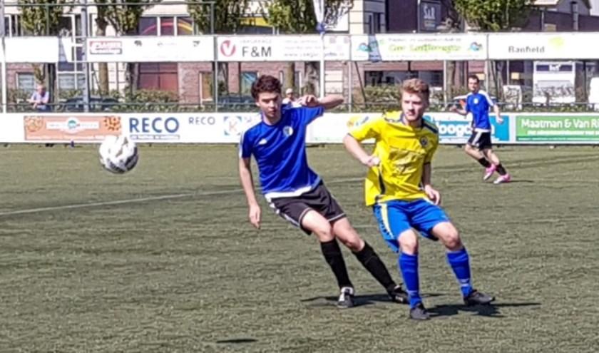 Floreant beperkte zich in de tweede helft tot het verdedigen van de voorsprong en ging uiteindelijk als gelukkige overwinnaar van het veld.