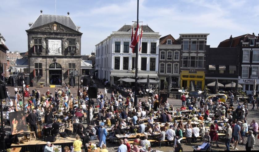 De Markt wordt het decor van een prachtig vrijheidsontbijt.