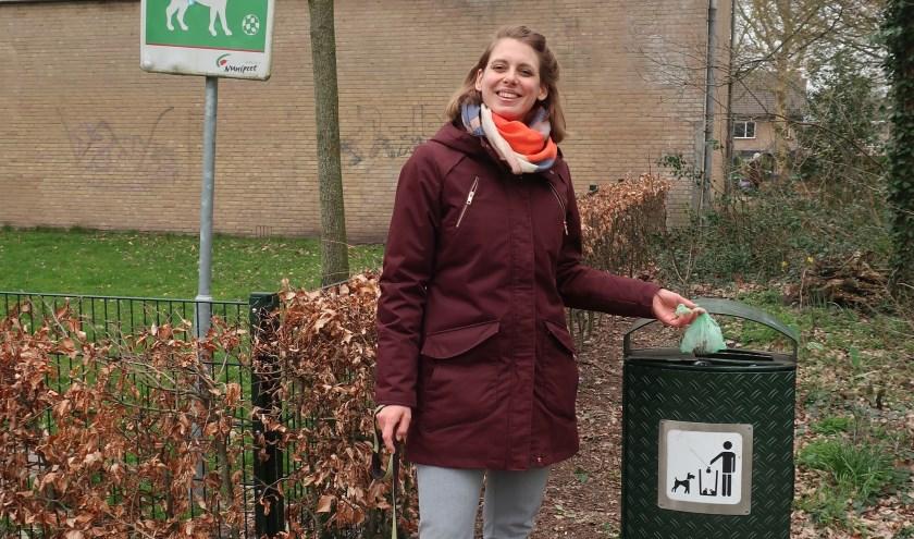 Wethouder Marije Storteboom hoopt op veel reacties van Nunspeters.(Foto: gemeente Nunspeet)