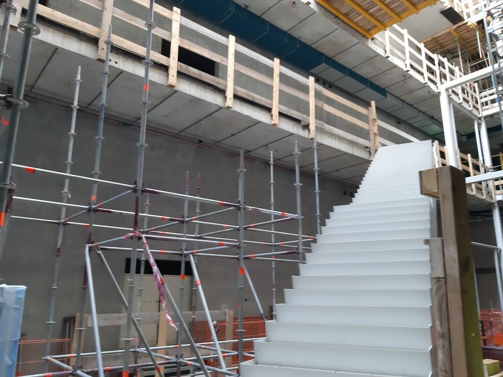 De eerste trap zit er al in!  © DPG Media
