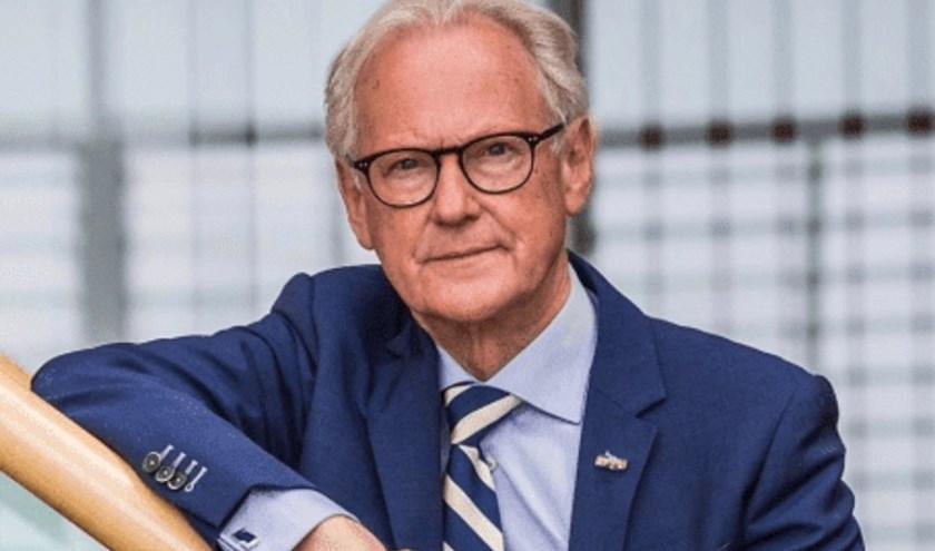 Burgemeester Jan Pieter Lokker is op vrijdag 5 april 's avonds te gast in de local talskhow Editie Leerdam in Stadspodium GO.