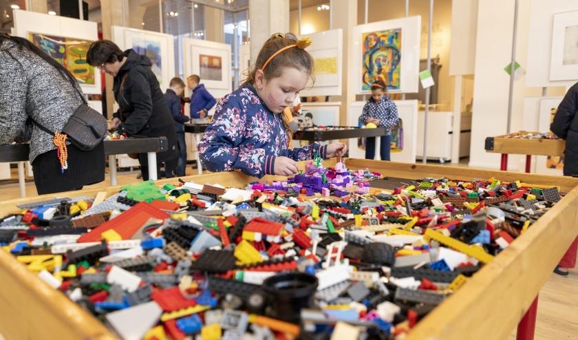 Archieffoto van het jaarlijkse Legospektakel in de Cultuurfabriek. (Foto 2019, Jolijn Lemstra)