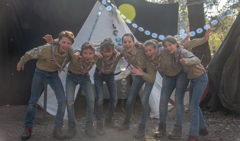 Die Wiltgraeff Belmonte Scouts 1 uit Wageningen