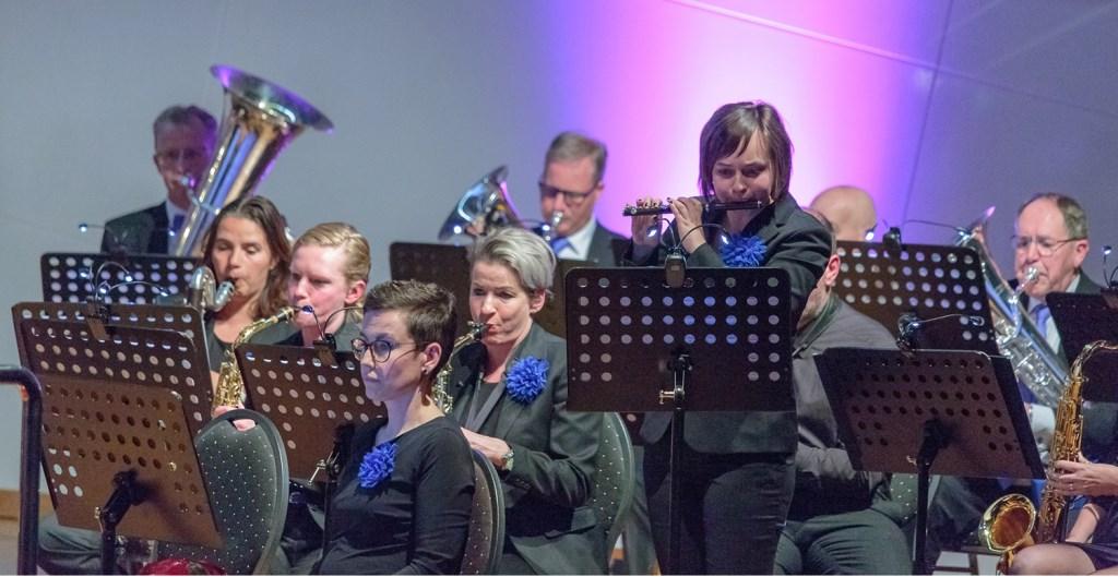 Maaike van Saane geeft solo tijdens voorjaarsconcert Ons Genoegen Foto: Gerard-Jan Gerritsen © DPG Media