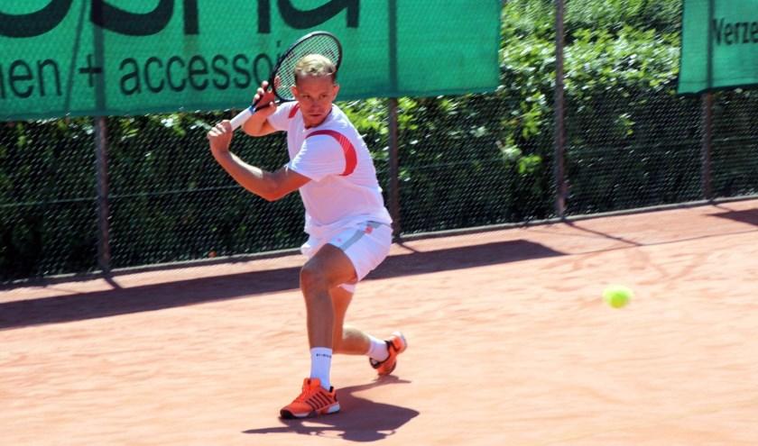 Kevin tennist al bijna zijn hele leven (foto: Sharture Photography)