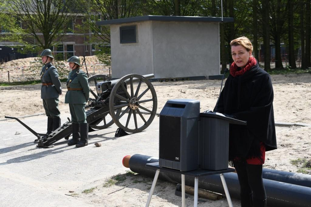 wethouder Veltman opende de Historische Middag Foto: Bert Vos © DPG Media
