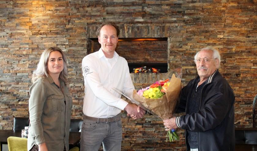 Ruby Vermaat, algemeen manager Robbert van Limburgh en Jaap Philipse. (Foto: Annemarie van der Ploeg)