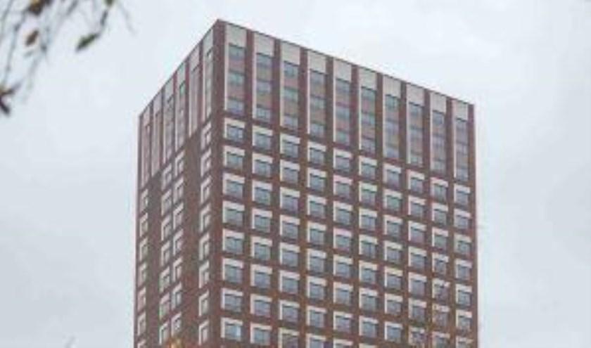 Het gebouw telt maar liefst 22 verdiepingen en herbergt 481 gestoffeerde woningen.