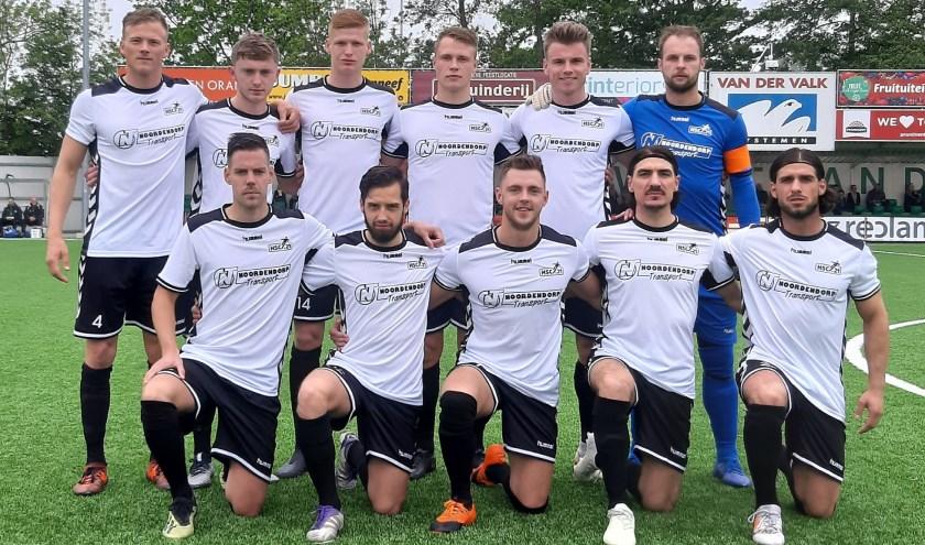 HSC'21 speelt ook volgend seizoen in de derde divisie. Zondag werd gewonnen van Westlandia en die drie punten namen de laatste spanning weg.