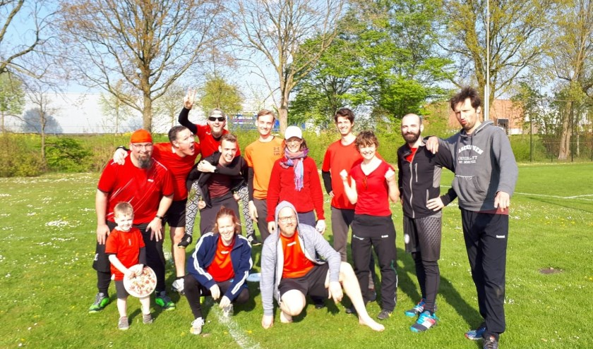 Teamfoto Discover Ultimate Frisbee