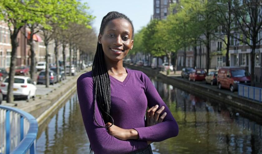 Juliet is in Den Haag geestelijk gegroeid en heeft zich ontwikkeld van meisje tot vrouw, zegt ze. (Foto: Peter van Zetten)