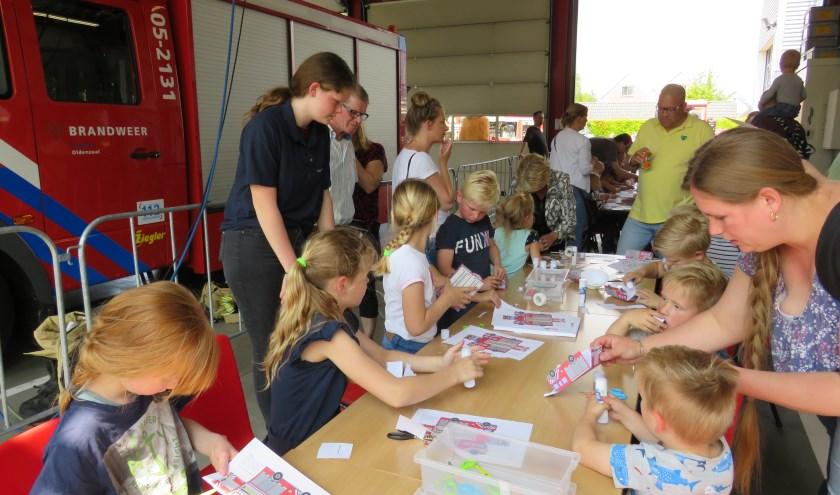 Voor kinderen was er tijdens het Kids Event in en rondom de brandweerkazerne van alles te doen.