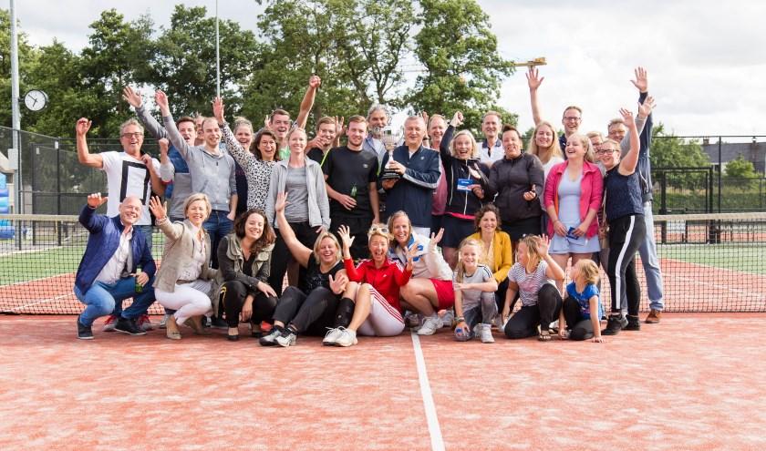 De Noaberscup is een jaarlijks terugkerend tennistoernooi. Foto: Niels de Pagter.