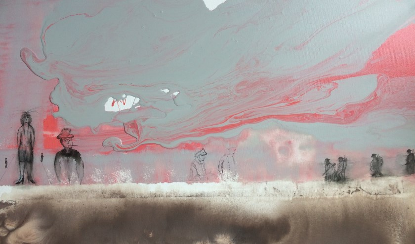 Schilderij Evert uit de Fles