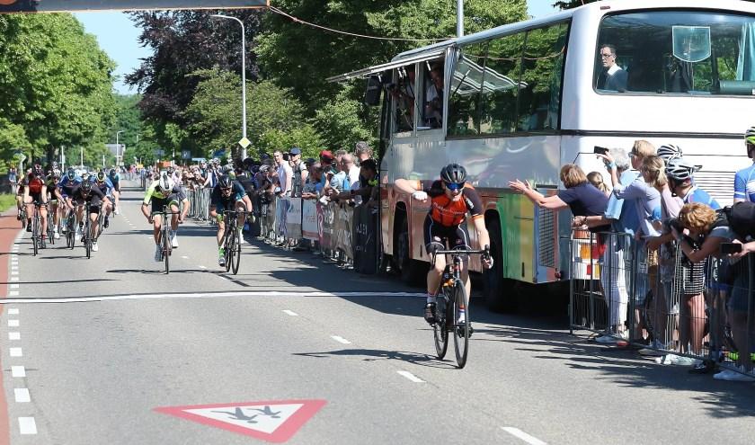 Emiel Jansman ging vorig jaar als winnaar over de finish in de categorie Amateurs.