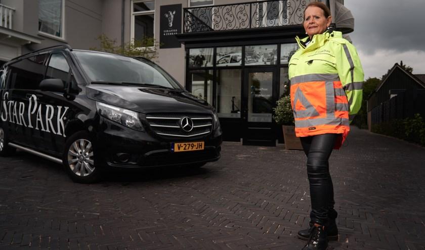 Rita van der Marel denkt nog lang niet aan stoppen met werken bij StarPark. (Foto: Nick Frens)