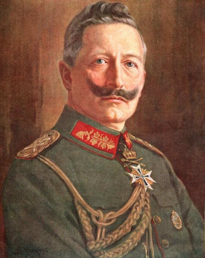 Wilhelm, narcist met snor CPA © DPG Media