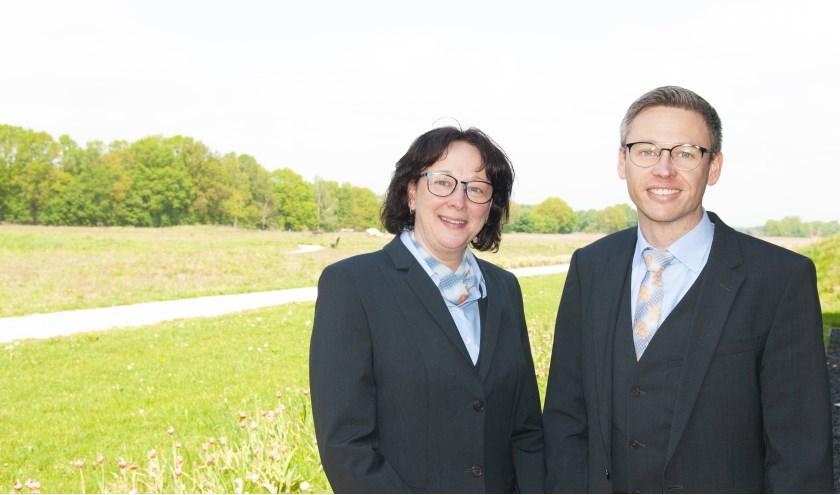 Renate Boerstal en Tim van Bemmel. (Foto: Bert van Asselt)