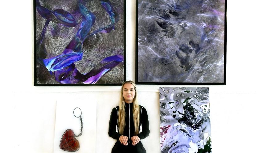Valentina Gal exposeert komend weekend op Huntenkunst. (foto: Roel Kleinpenning)