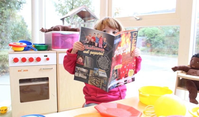 In dit kindnummer kunnen mensen lezen welke mogelijkheden er zijn als een gezin weinig geld te besteden heeft. FOTO: PR