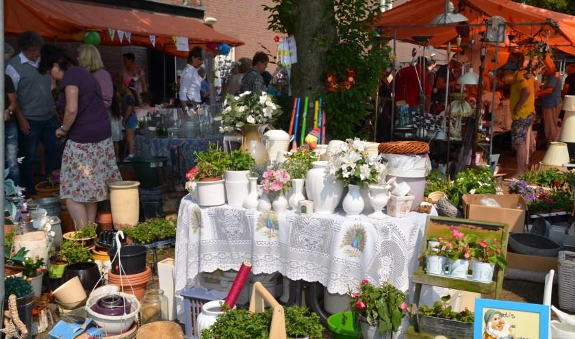 Rommelmarkt Waalre. Foto: John Kolen