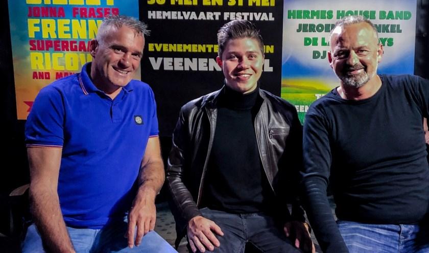 De organisatie van het nieuwe festival in Veenendaal.